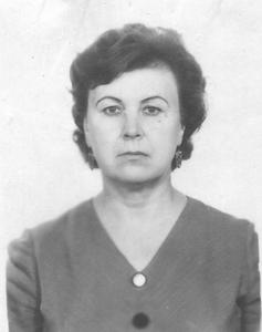 Федоренко (Белоконь) Зинаида Илларионовна